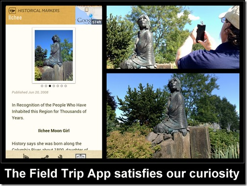 Field Trip Identifies a Statue