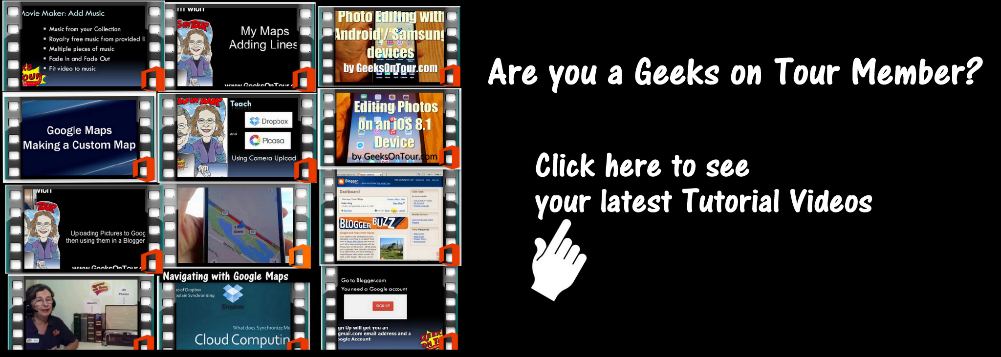 http://geeksontour.tv/category/show-me-video/