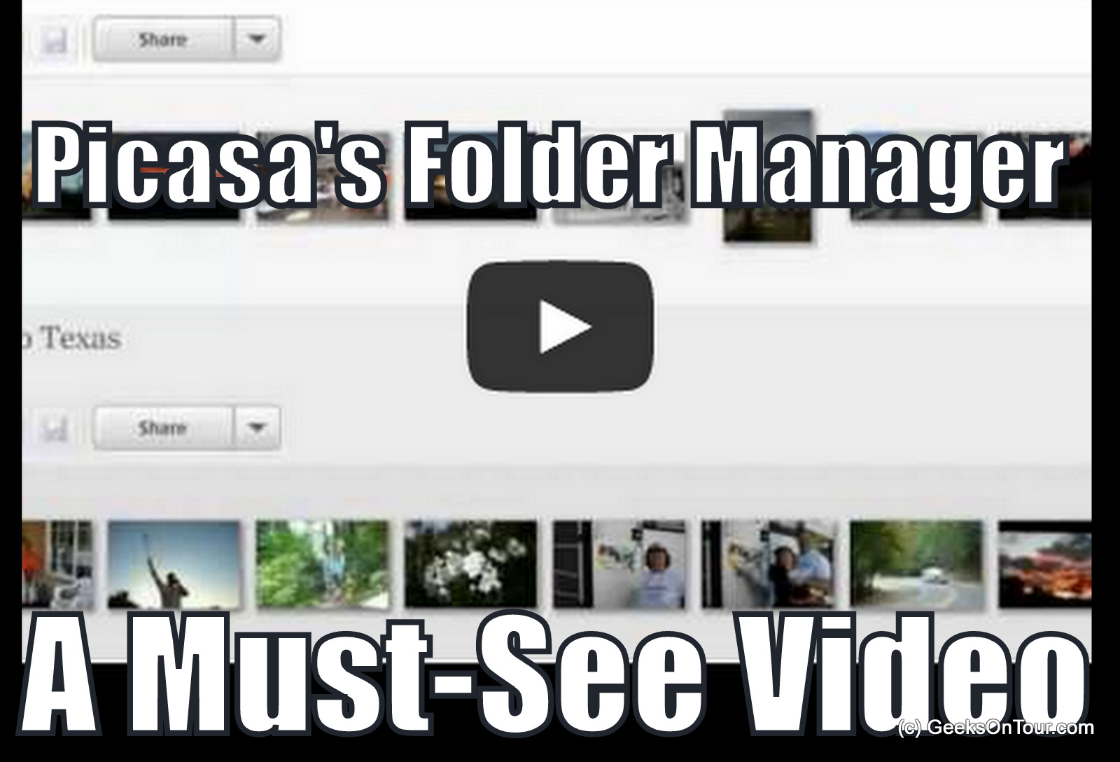 Managing Pictures with Picasa
