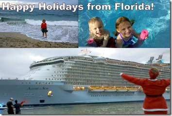 Happy Holidays from Florida