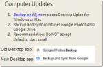 Google Drive, Backup and Sync, and Google Photos